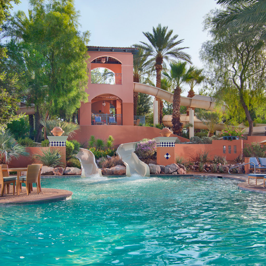 Best hotel pools in scottsdale travel leisure for Best hotel pools