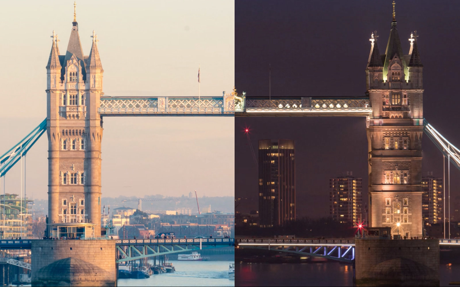 Take In the Best of London During the Day and at Night in Less Than Two Minutes