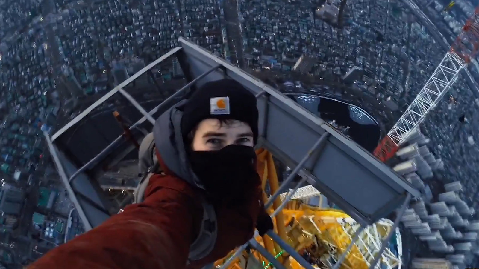 Lotte World Tower climb