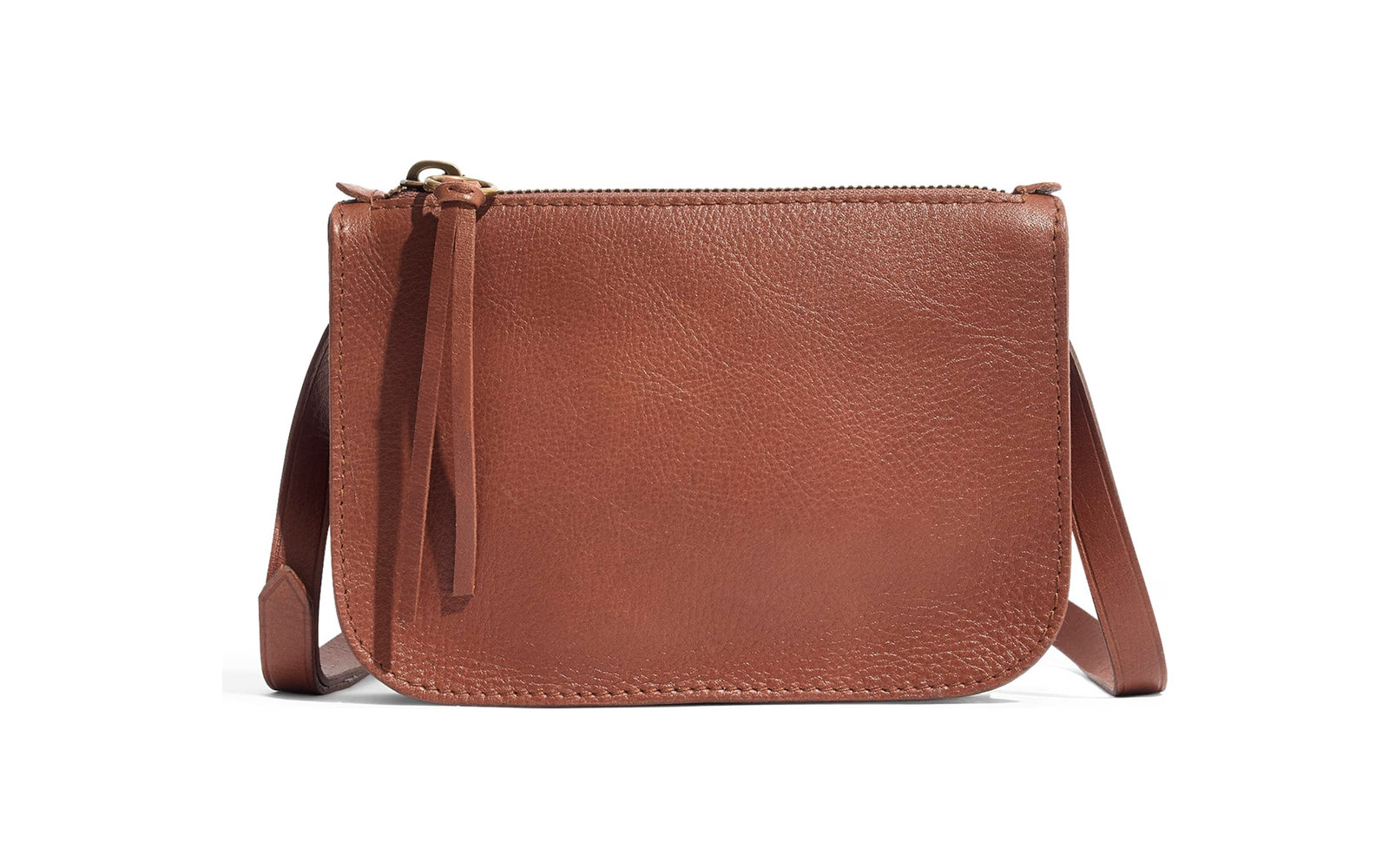 Madewell The Simple Pouch Leather Belt Bag