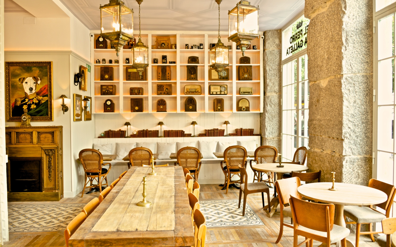 The hottest new madrid restaurants travel leisure for La casa encendida restaurante madrid