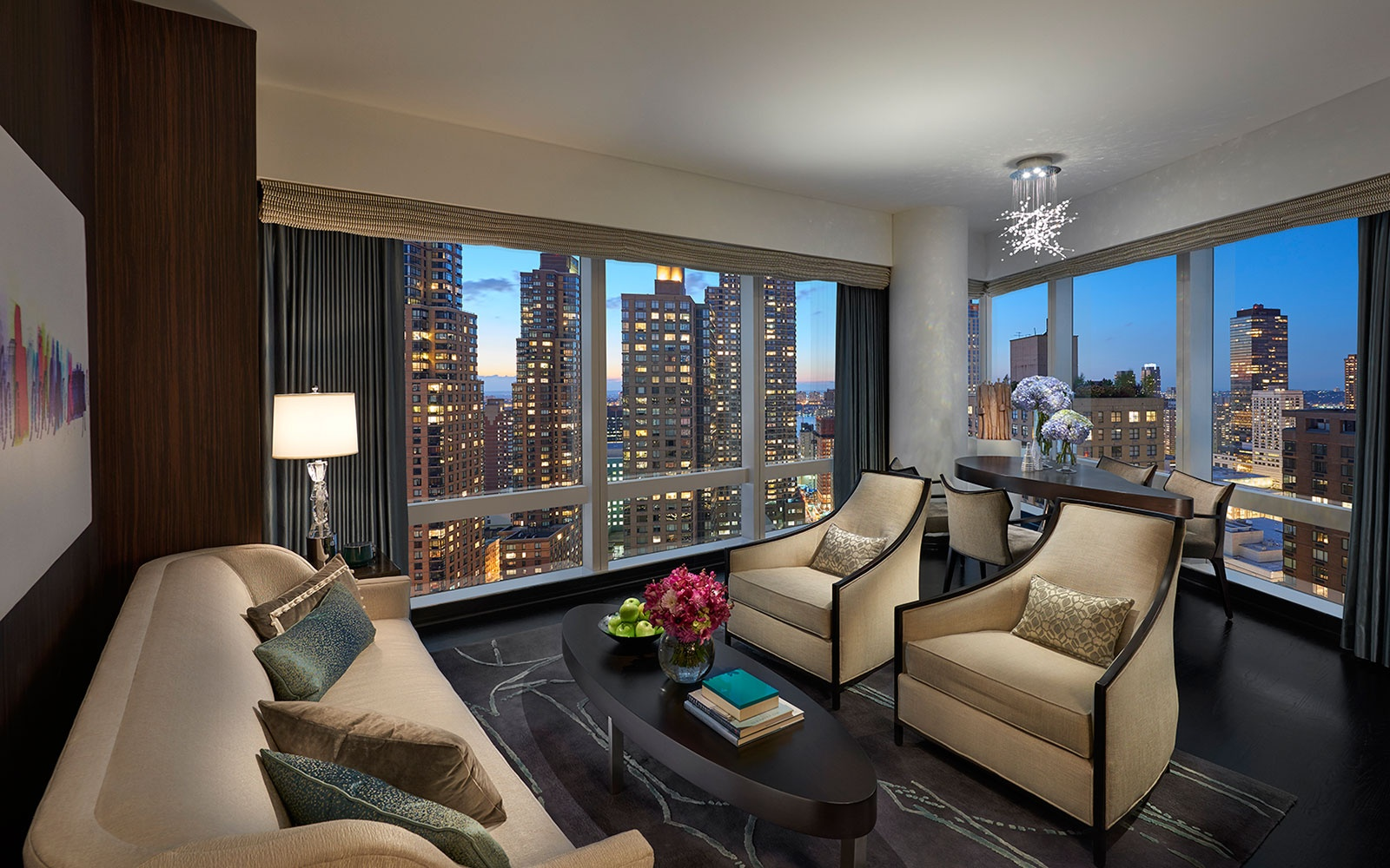 Mandarin Oriental new suites NYC