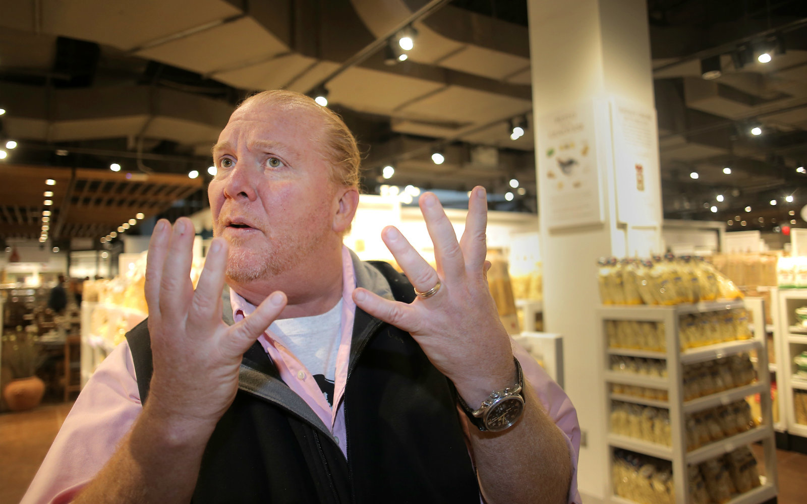 Mario Batali Fired From 'The Chew' After Sexual Misconduct Investigation