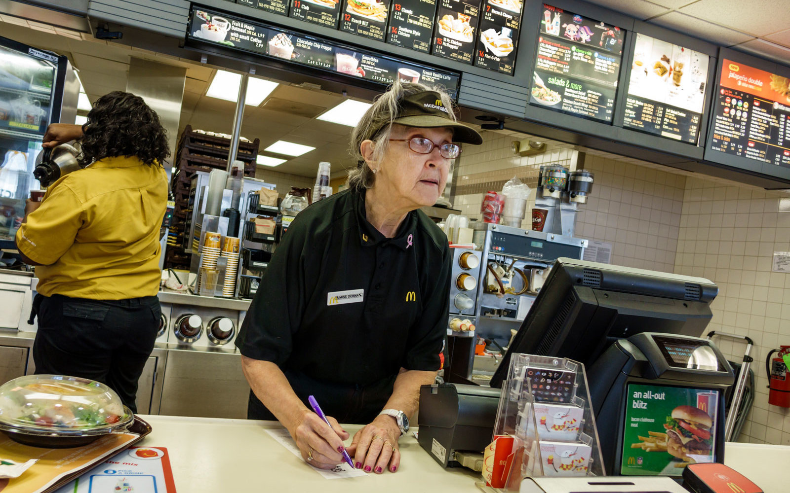McDonald's and AARP Join Forces to Hire Older Workers
