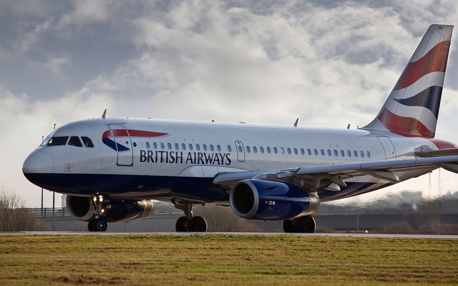 British Airways airplane exterior