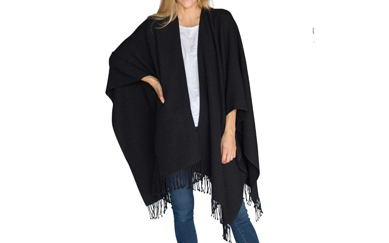 Mer Sea Classic Travel Wrap with Tassels