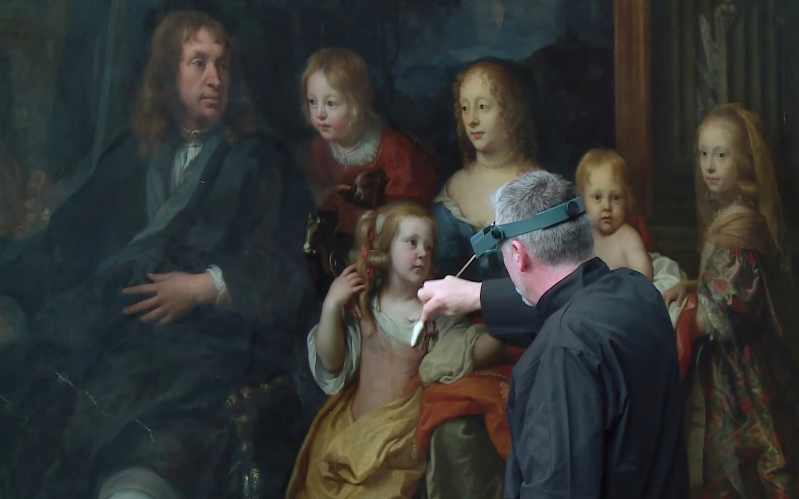 Met Painting Restoration: Charles Le Brun's A Portrait of Everhard Jabach and Family