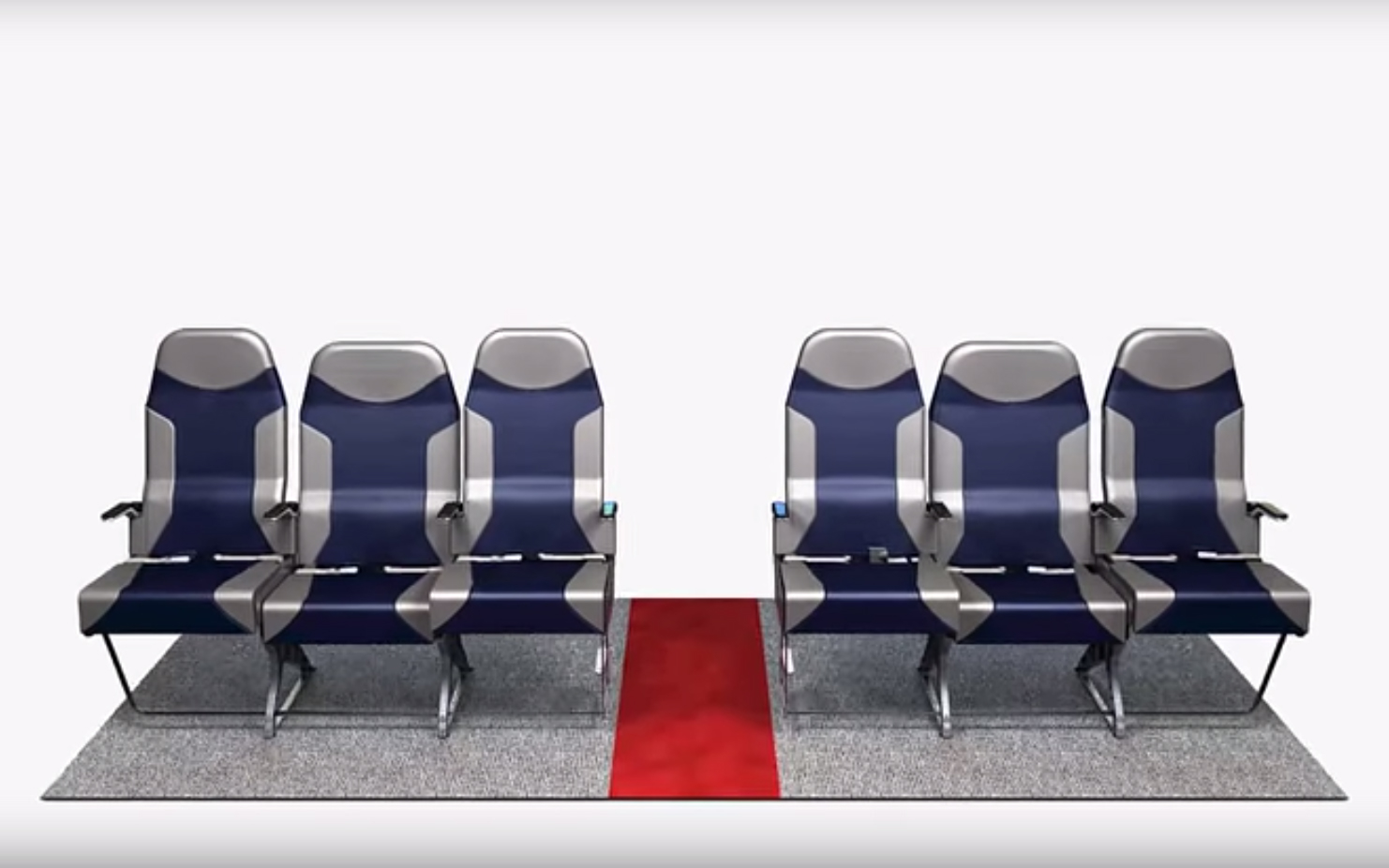 This Brilliant New Design Makes the Middle Row the Best Seat on the Plane