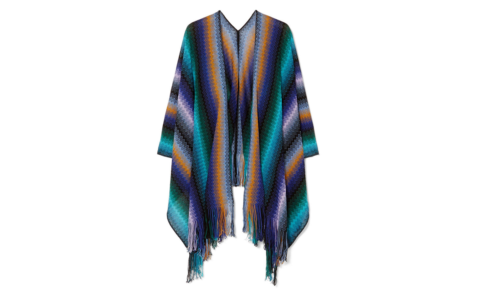 Fringe Crochet Wrap by Missoni