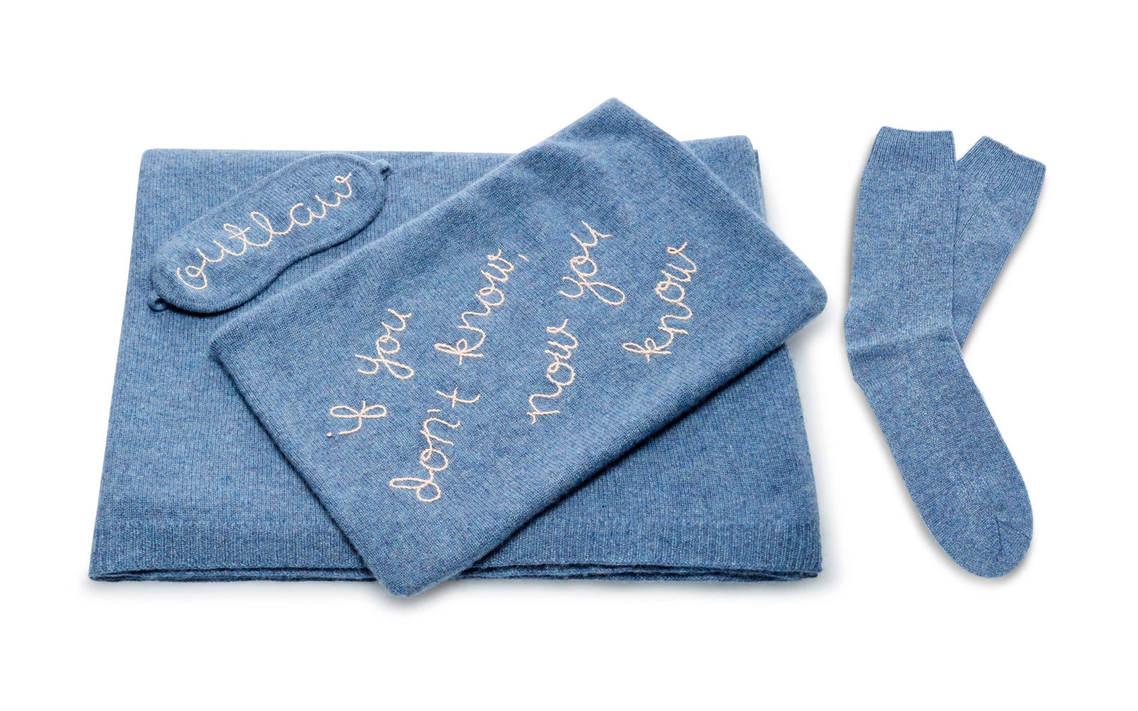 Cashmere Feminist Travel Set