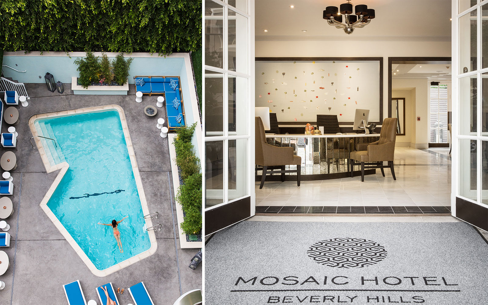 beverly hills's mosaic hotel completes renovation | travel + leisure