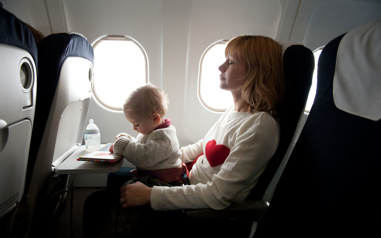 How i survived flying with a baby the good the bad and the really ugly
