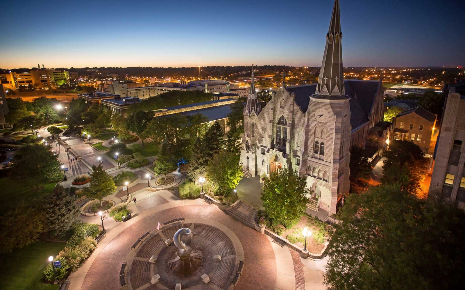 Creighton University in Nebraska