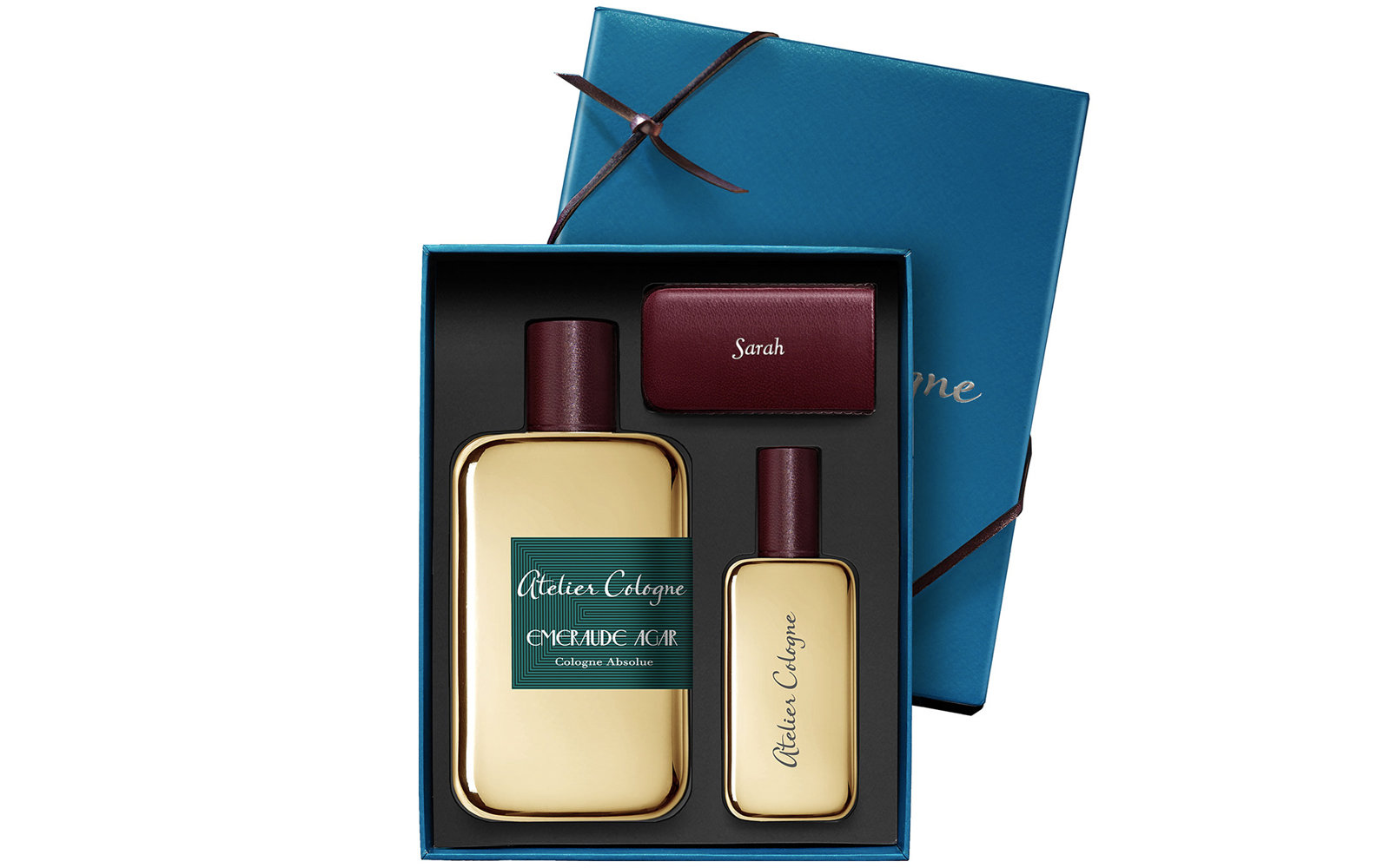 Atelier Cologne Emeraude Agar Cologne Asolue with Personalized Travel Spray