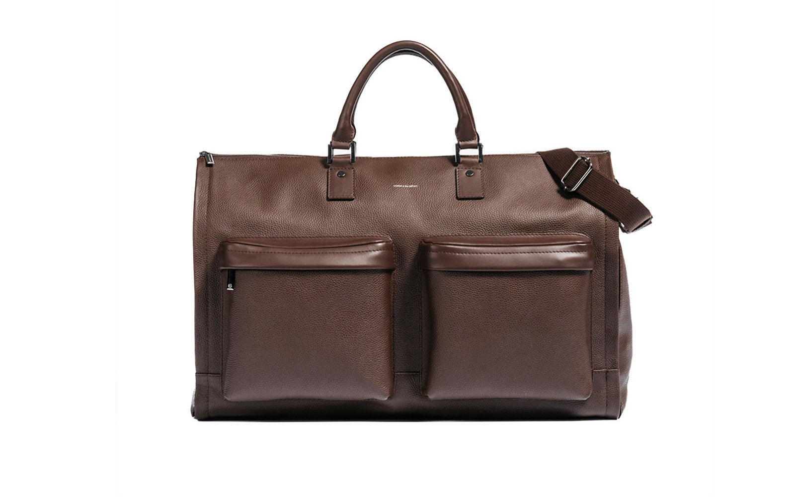 hook + Albert Leather Garment Weekender Bag