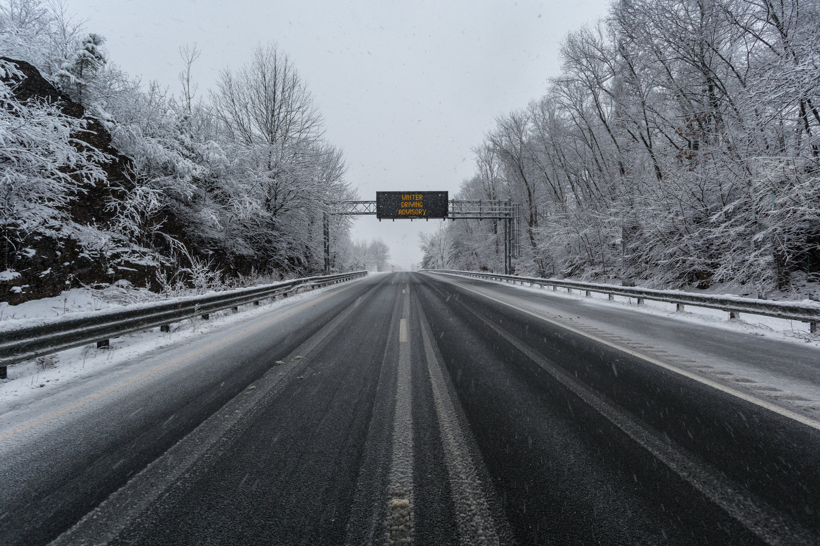 Winter Weather Advisory in effect for Christmas Eve, be careful traveling