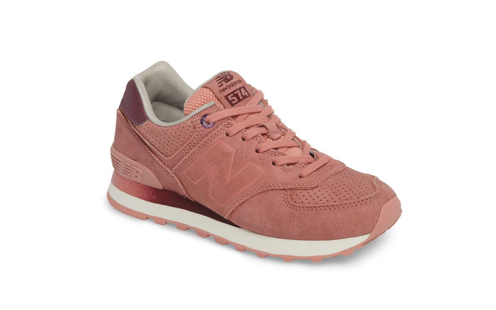 6492f8c65c For a Pop of Color  New Balance 574 Sneakers. The Best Comfy and Cute  Sneakers