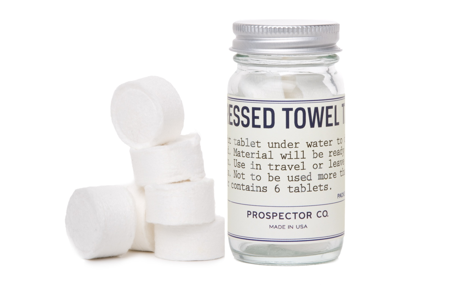 Prospector Co. Compressed Towels