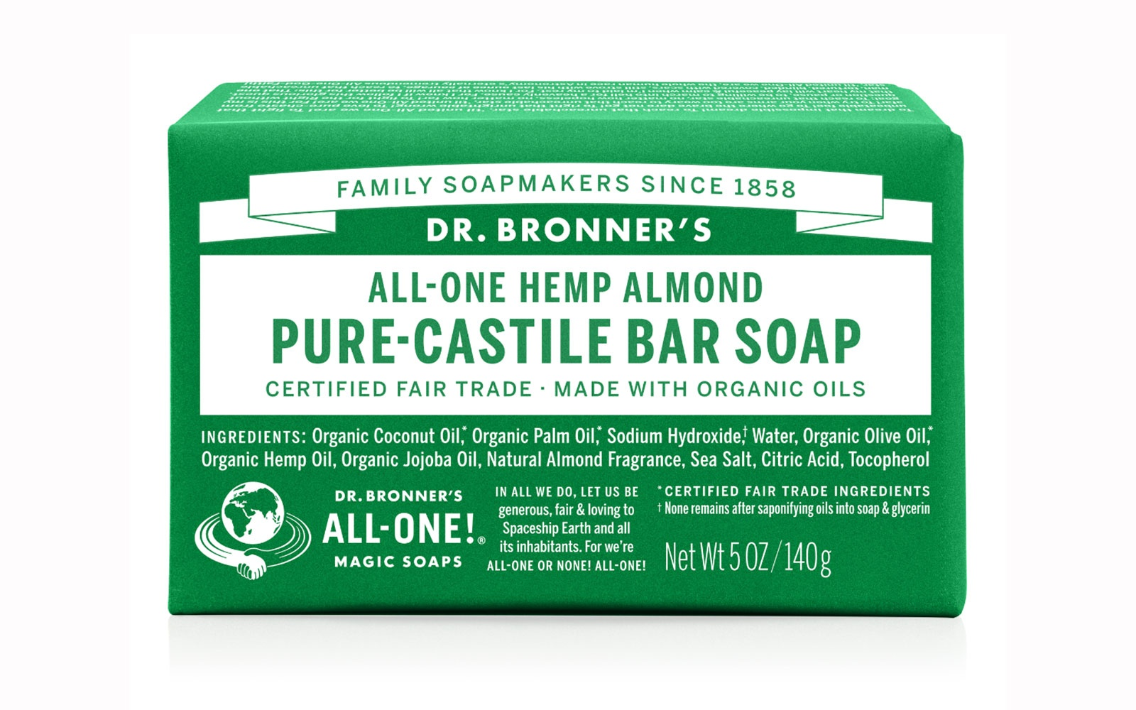 Dr. Bronner's All in One Soap