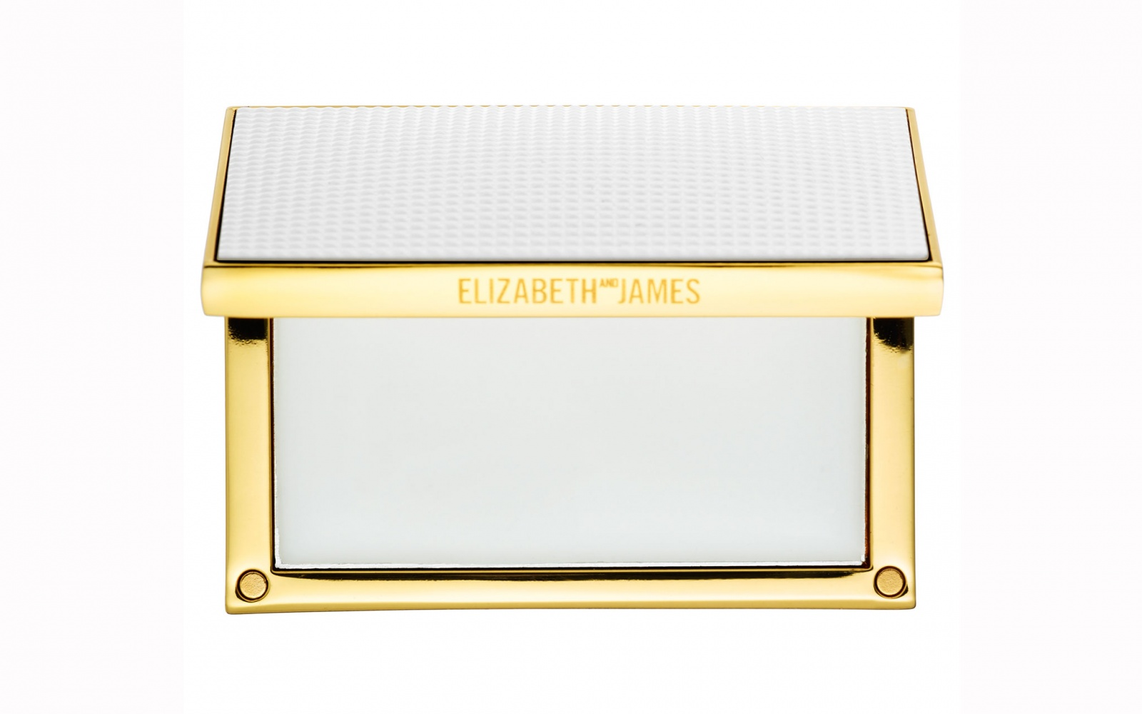 Elizabeth and James Nirvana White Solid Perfume Compact