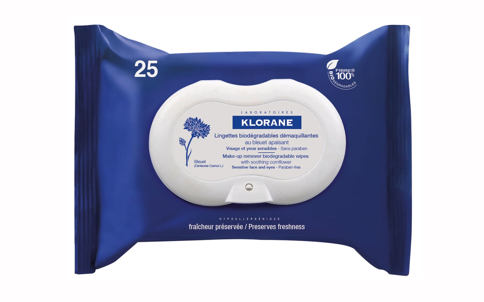 Klorane Make-up Remover Wipes