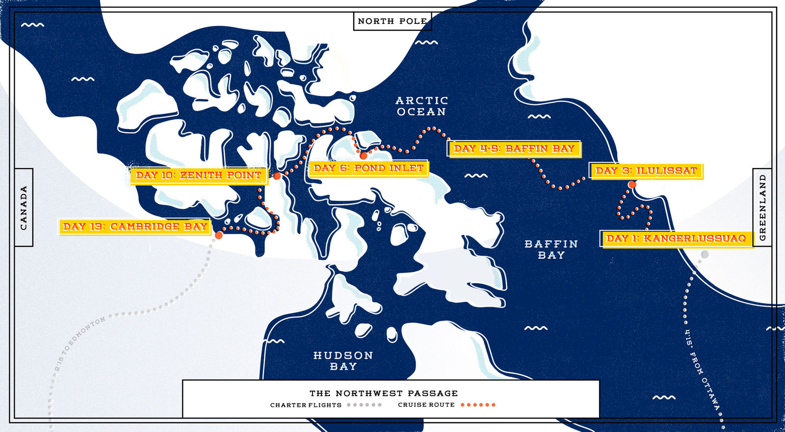 Cruising the northwest passage travel leisure cruising canadas northwest passage gumiabroncs Gallery
