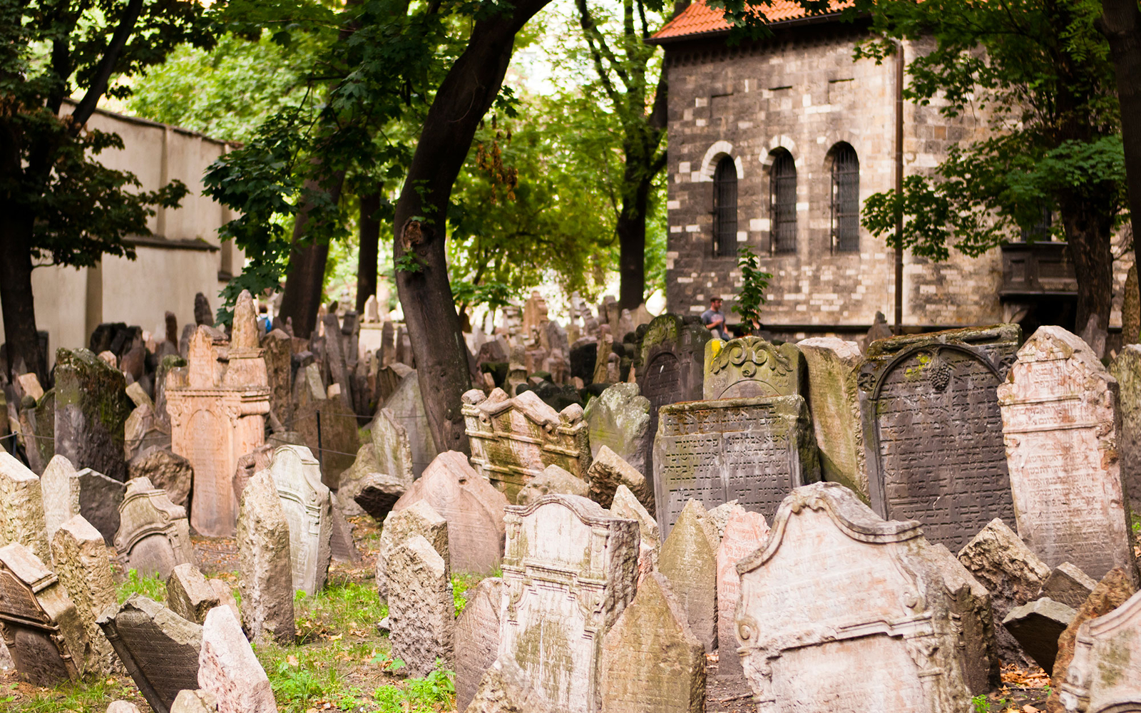 Beautiful cemeteries