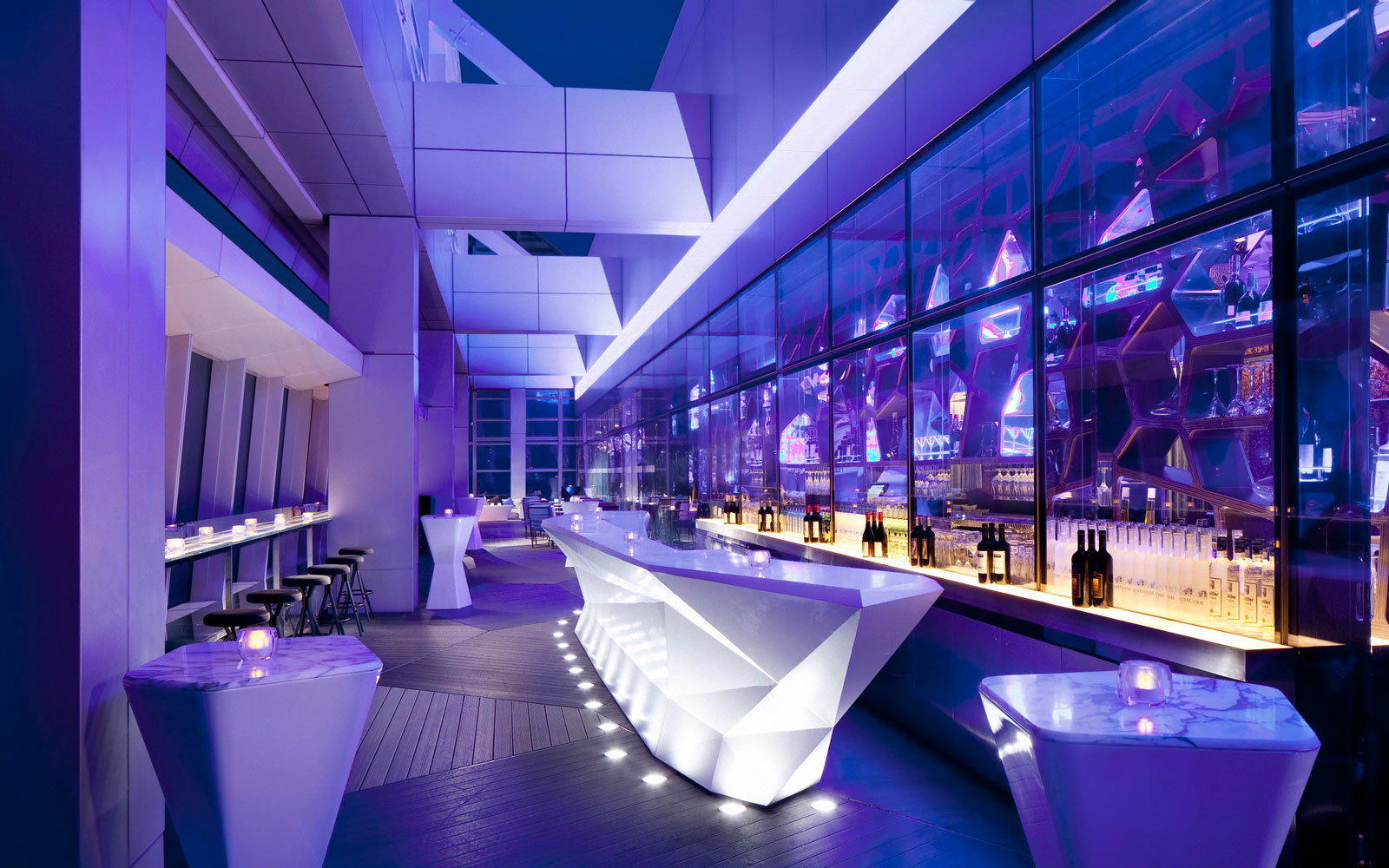 Ozone Bar at The Ritz Carlton,  Hong Kong