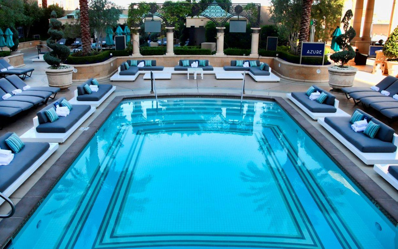 Vegas 39 best pools from dayclubs to djs travel leisure - Whitefish bay pool open swim hours ...