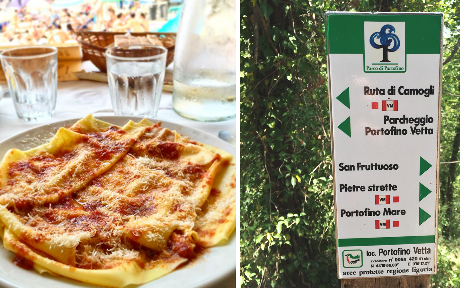 Hiking for Pasta in Italy