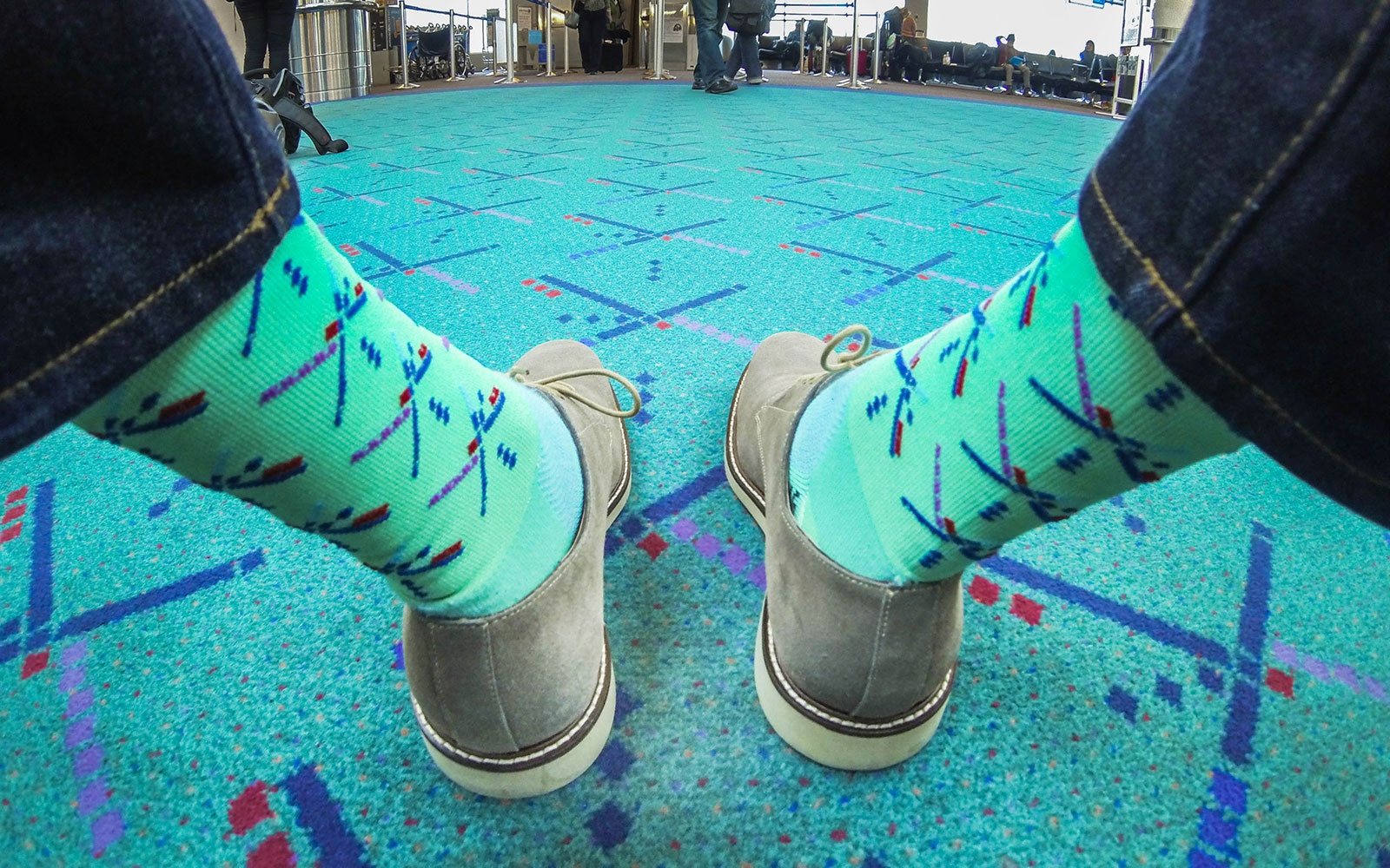 PDX Airport Carpet