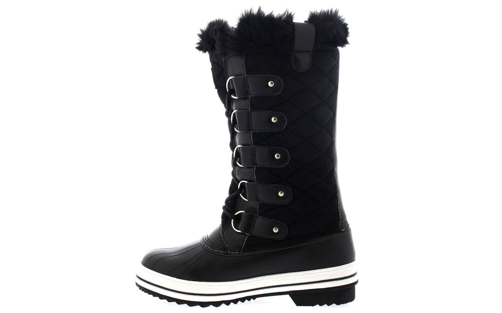 Best for Warmth: Polar Women's Nylon Tall Winter Snow Boot