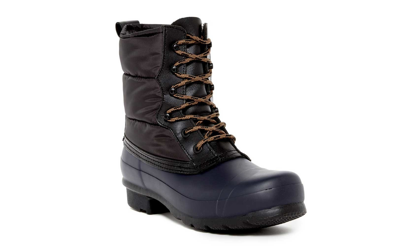 Hunter Quilted Lace Up Boot
