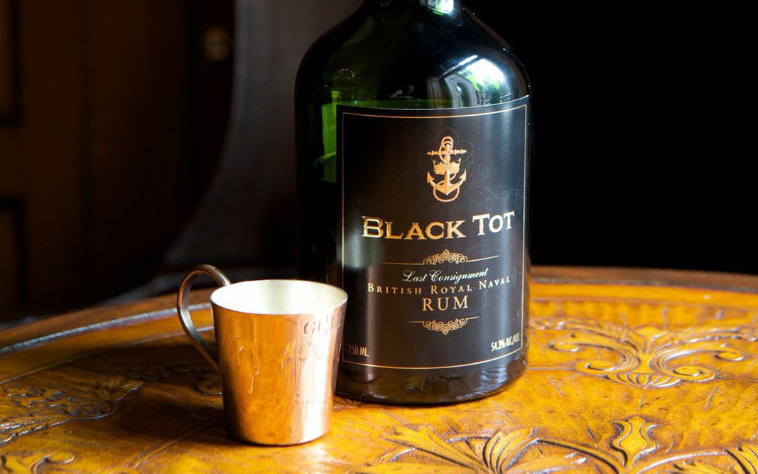 Bottle of Black Tot