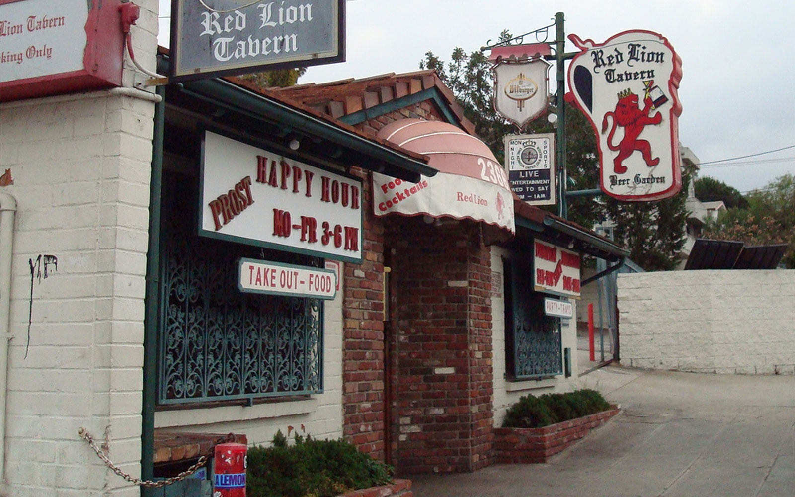Red Lion Tavern,Los Angeles