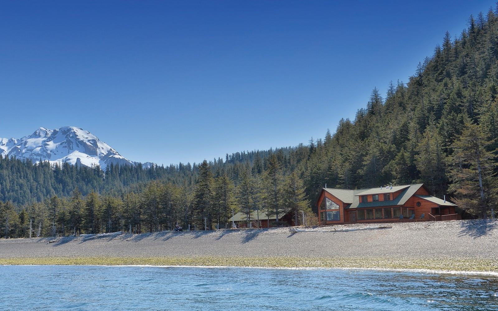 Kenai Fjords Wilderness Lodge in Alaska