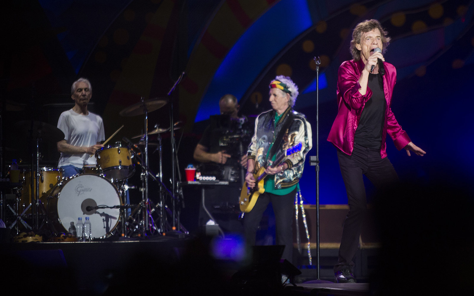 Rolling Stones on stage in concert