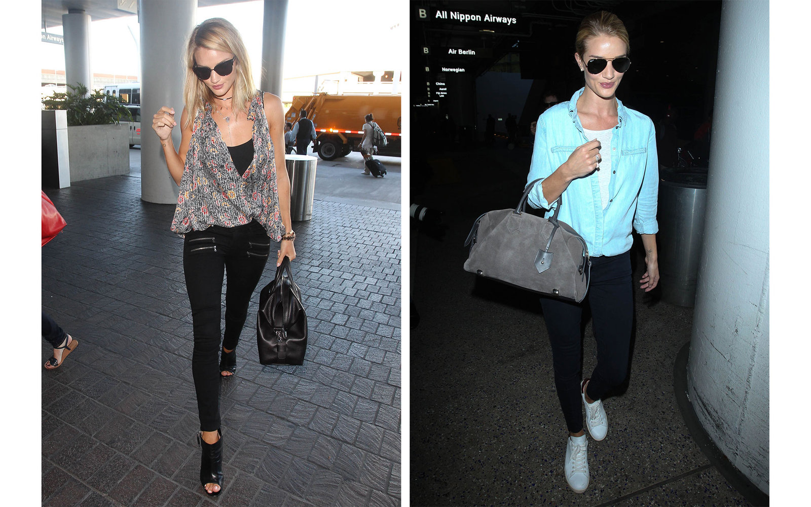 airport style  celebrity do u0026 39 s and don u0026 39 ts
