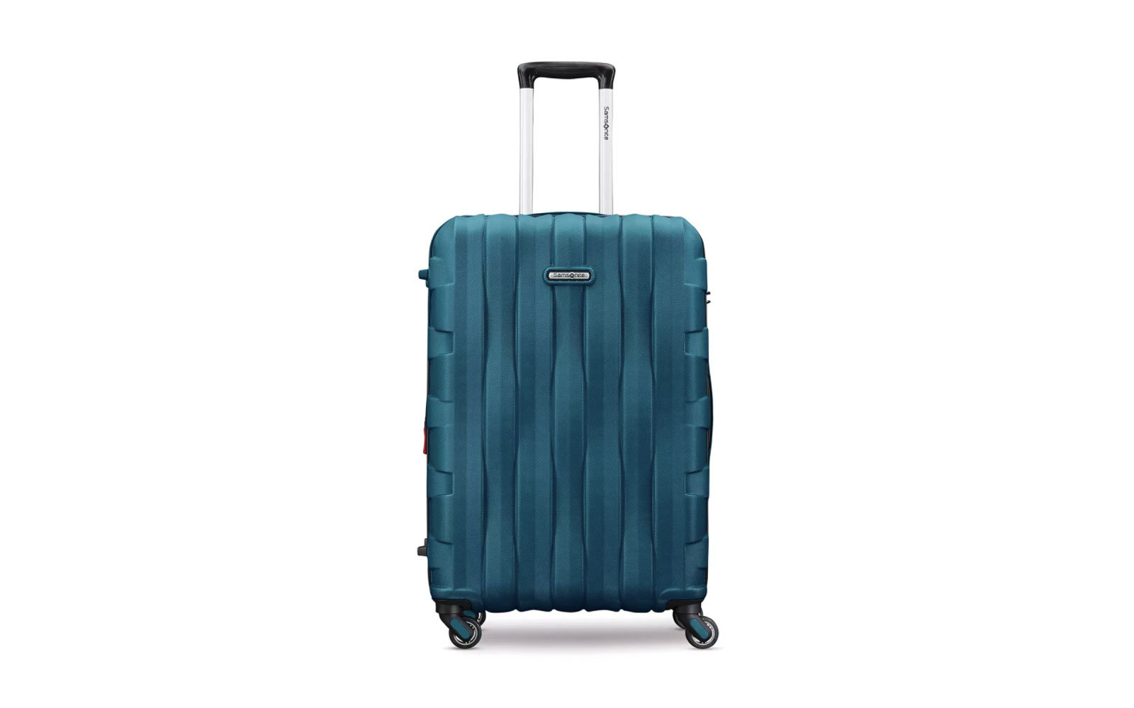 Hard-shell Rolling Carry-On Suitcase