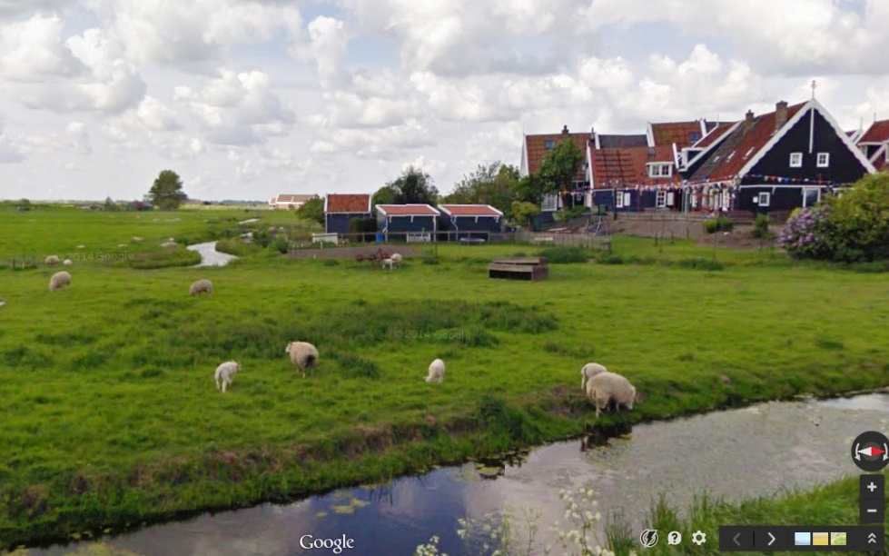 Pastoral Travelers: Google Sheep View is Here, and it is Glorious