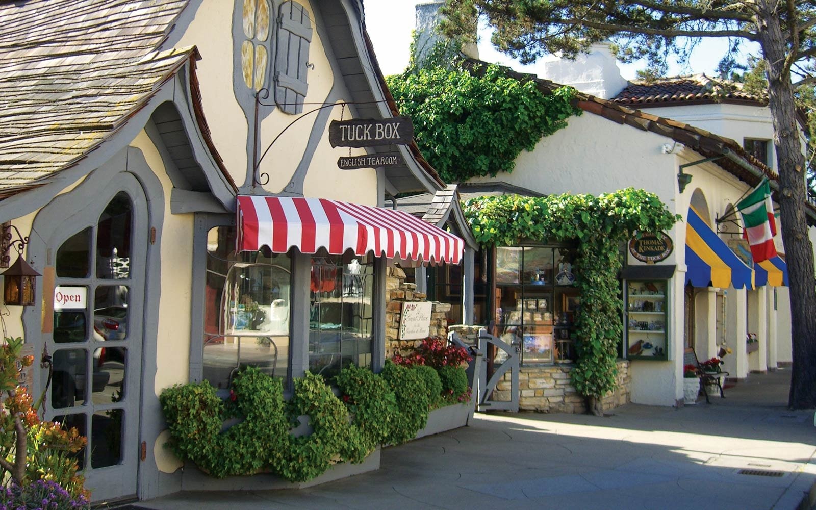 Shopping, Downtown, Carmel, California
