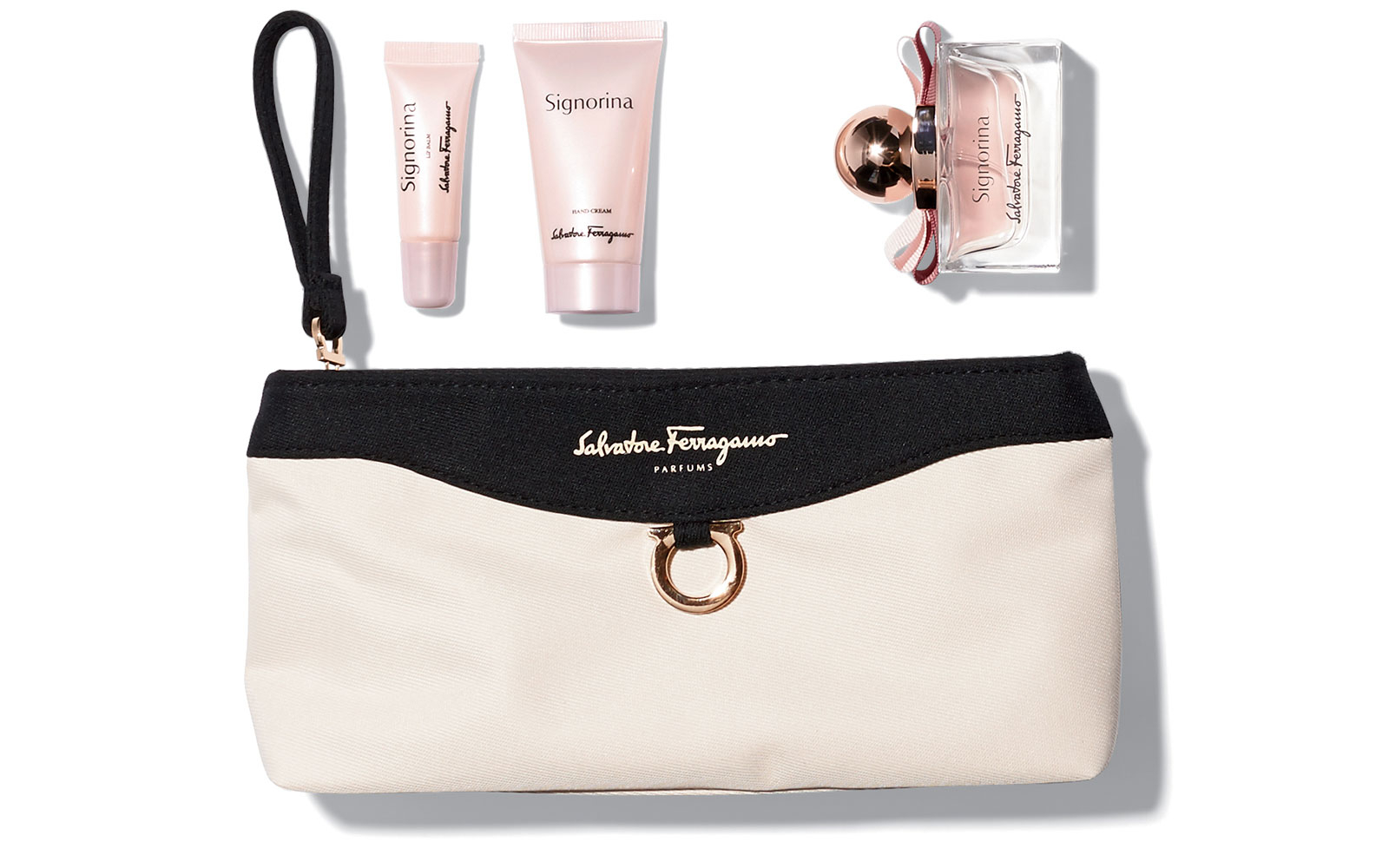 Singapore Airlines: First Class Ferragamo Amenity Kits