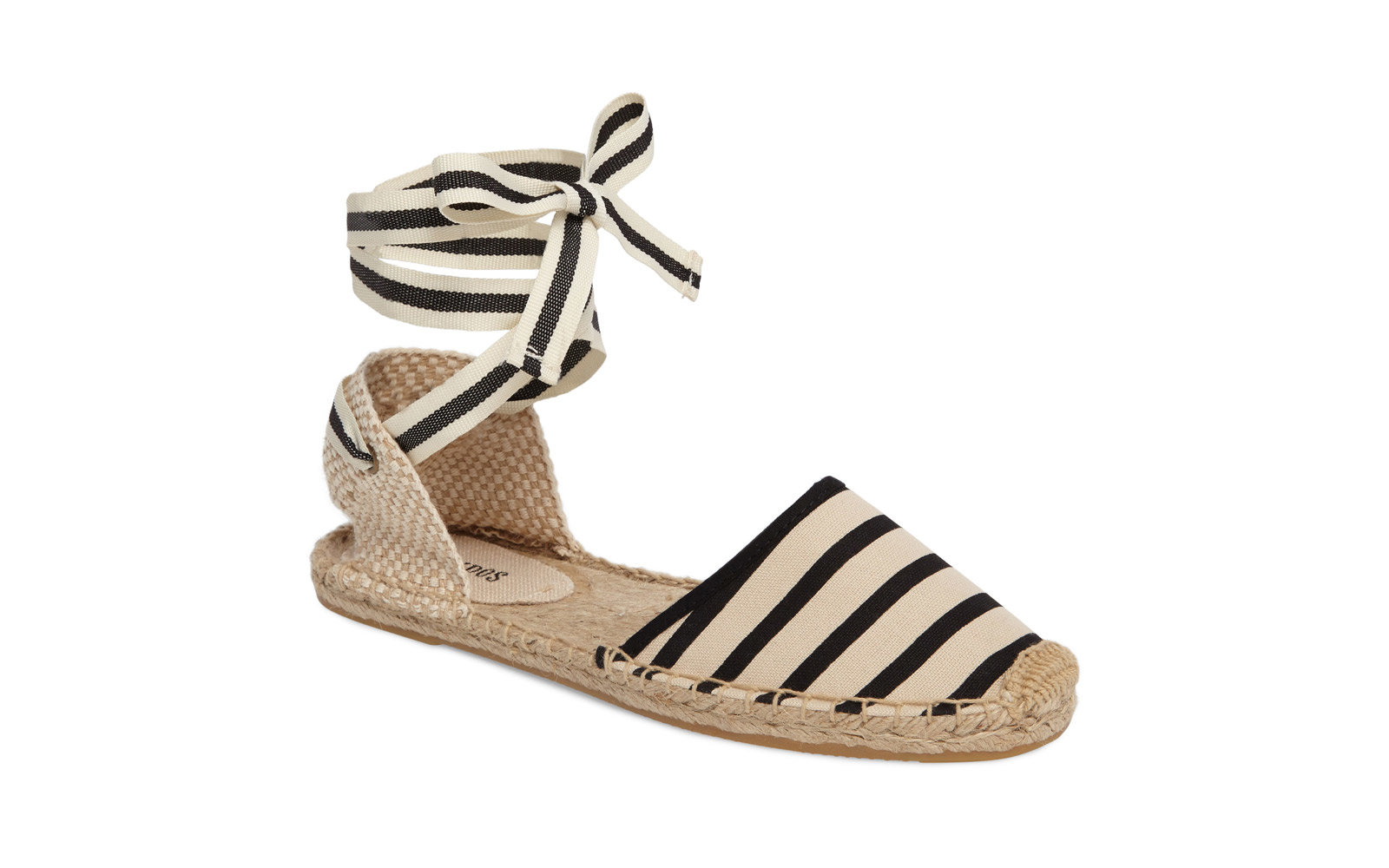 Soludos Lace-up Espadrille Sandals