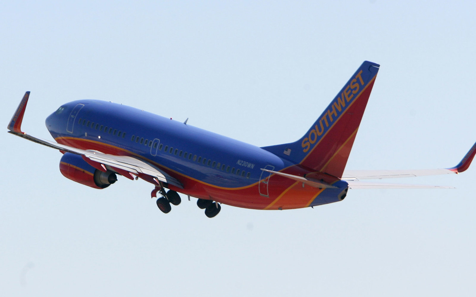 Southwest airplane