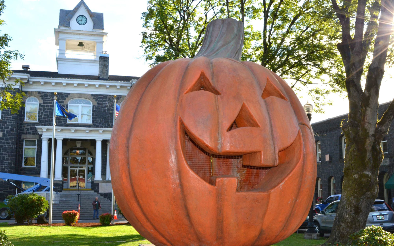 halloweentown is a real place this october | travel + leisure