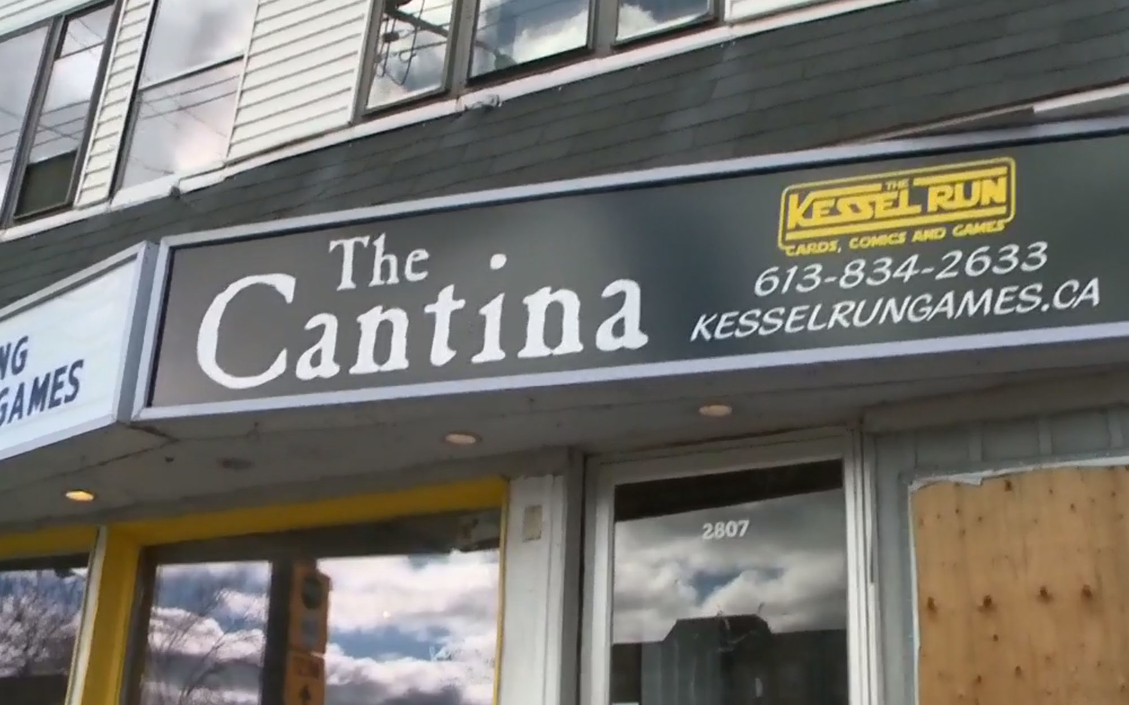 The Cantina Star Wars bar in Ottawa