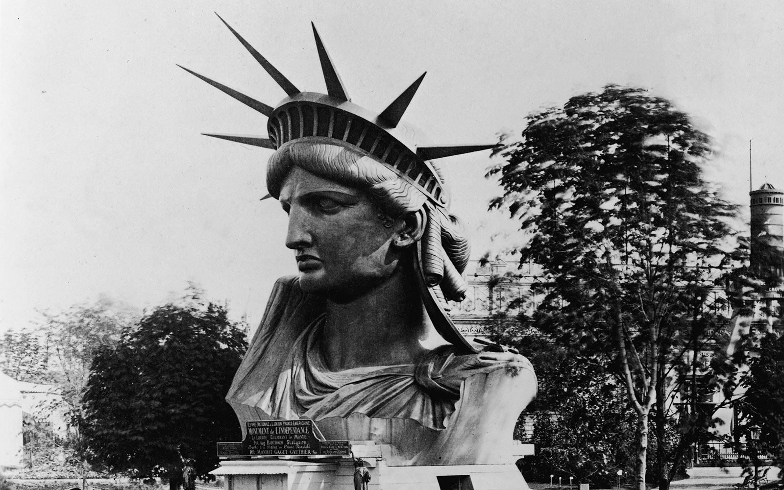 Here's What the Statue of Liberty Looked Like in the 1800s