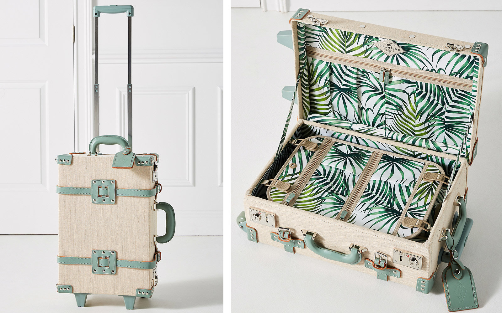 steamline cute luggage