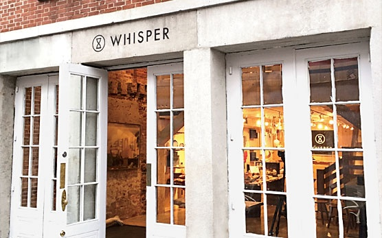 Whisper Editions exterior