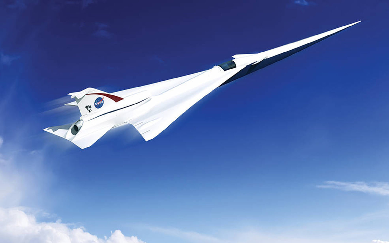 NASA Supersonic Jet
